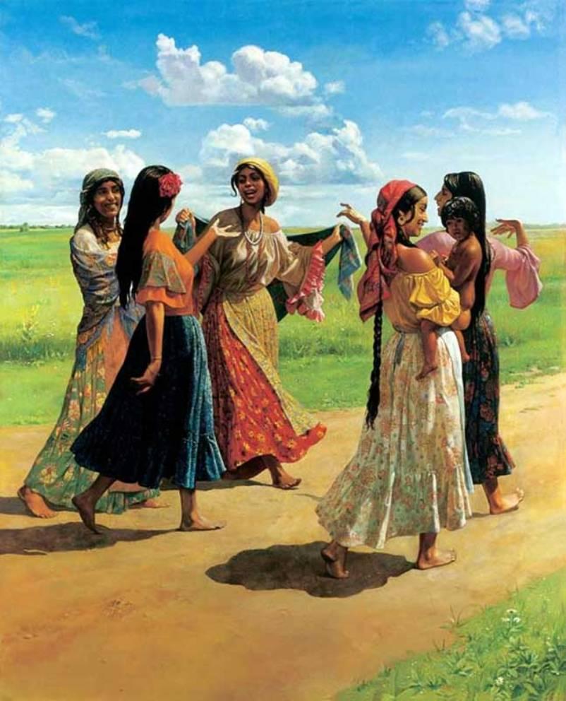 Крымские цыгане — Википедия